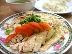 Hainanese Chicken Rice - A Slice of Heaven