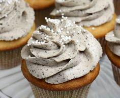 Eggnog Latte Cupcake- I sense a new holiday tradition...