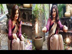 Raveena Tandon's DIWALI 2014 celebration at her home.