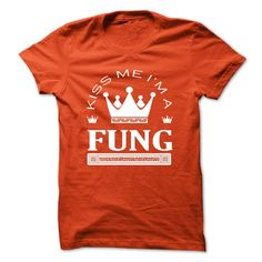 (Tshirt Amazing Design) TO2803_1 Kiss Me I Am FUNG Queen Day 2015 Shirts 2016 Hoodies Tees Shirts