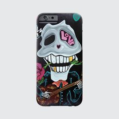 """Be Mine"" by artist Laura Barbosa. #phonecase #dayofthedead"