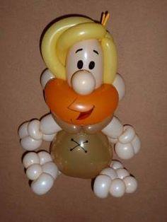 Barney Rubble van de Flintstones