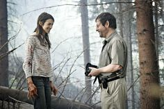 Charlotte Gainsbourg and Lars Von Trier in Anticrist