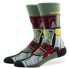 http://www.newtrendclothing.com/category/mens-socks/ Stance | Boba Fett | Men's Socks | Official Stance.com