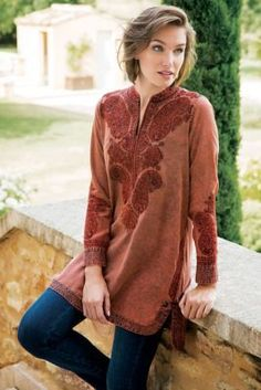 Spice Market Tunic from Soft Surroundings