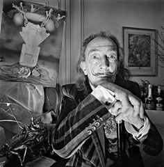 Salvador Dali by Derry Moore