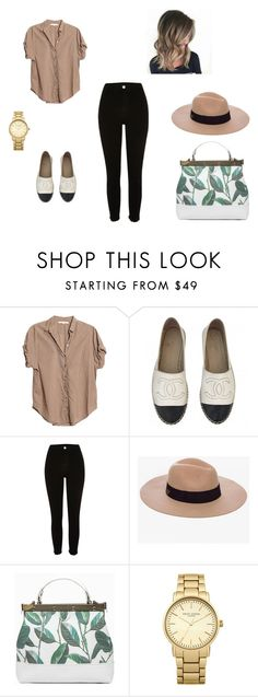 """Untitled #23"" by d-divaa on Polyvore featuring Xirena, Chanel, River Island, Anine Bing and Topshop"