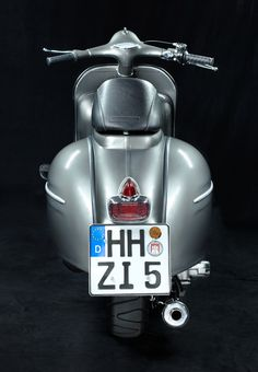 VESPA GS 160 ANTHRAZIT | CUSTOM VESPA | Deutsch