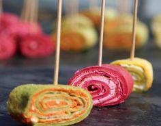 Schnelle Partyrezepte: Mini-Pfannkuchen-Häppchen