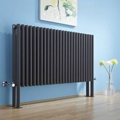 The Zave anthracite designer radiator is perfect for adding contemporary style to any room of your home.