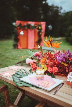 Wedding Market - Tropical Hochzeit - Style Shoot.
