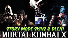 Mortal Kombat X - Story Mode Skins & DLC Details