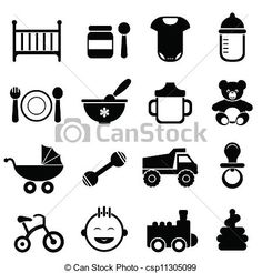 Baby Cradle Clip Art | , stock clip art icon, stock clipart icons, logo, line art ...