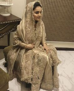 Nikkah Dress, Shadi Dresses, Pakistani Formal Dresses, Pakistani Wedding Outfits, Indian Bridal Wear, Pakistani Dress Design, Pakistani Wedding Dresses, Bridal Outfits, Indian Dresses