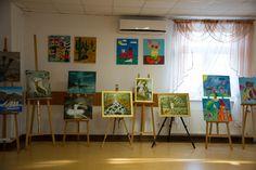 Urząd Gminy Trzebownisko - Otwarcie wystawy prac artystów z Wólki Podleśnej
