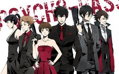 Awww the psycho-pass crew lookin all cute--wait...WAIT... I SEE THAT HAND, KOGAMI, I SEE IT.