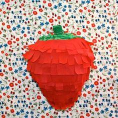 strawberry piñata