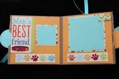 DOG LOVER PAPER BAG SCRAPBOOK Mans Best Friend, Best Friends, Paper Bag Scrapbook, Dog Lovers, Scrapbooking, Diy, Crafts, Bags, Beat Friends