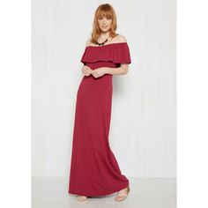 Boho Long Short Sleeves A-line When the Going Gets Ruffle Maxi Dress