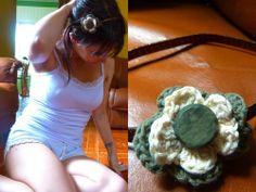 vincha, crochet