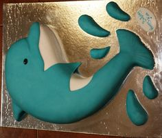 Home Made Carrot Cake Dolphin