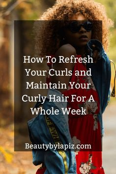 How To Refresh Your Curls and Maintain Your Curly Hair Longer - Rebel Without Applause 3b Curly Hair, Curly Hair Routine, Big Hair, Curly Hair Tutorial, Hair Porosity, Curly Girl Method, Natural Hair Styles, Long Hair Styles, Curled Hairstyles