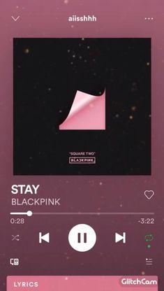 Korean Song Lyrics, Korean Drama Songs, Stay Blackpink Lyrics, Love Songs Playlist, Black Pink Songs, Song Lyrics Wallpaper, Blackpink Video, K Pop Music, Aesthetic Songs