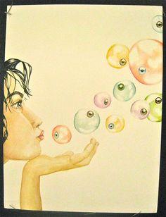 Bubble Eyes by MiriFlower27.deviantart.com on @DeviantArt