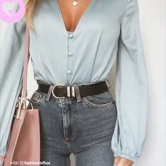 Cute Jeans, Blouses, Bags - New Ideas Mode Outfits, Fall Outfits, Summer Outfits, Fashion Outfits, Travel Outfits, Fashion Bags, Simple Outfits, Stylish Outfits, Stylish Clothes