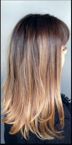 ombre hair color 2013  This with less all over color on ends
