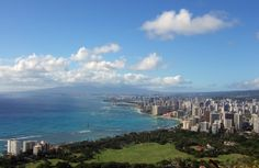 hike diamond head to see this view! CHECK :D