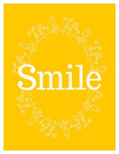Happy Quotes : by Eve Sand. - Hall Of Quotes Happy Thoughts, Positive Thoughts, I Smile, Make Me Smile, Frases Humor, Typography Prints, Graphic Prints, Happy Colors, Mellow Yellow