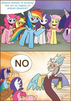 Who's gonna protect Equestria? by HowXu.deviantart.com on @deviantART