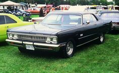 69 Plymouth Sport Fury 2 dr ht