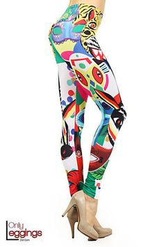 Largest online retailer of leggings and leg fashion in kids, regular, plus and extra plus sizes with over 4000 styles and the lowest online prices. Affordable Workout Clothes, Wide Leg Yoga Pants, Cute Gym Outfits, Workout Clothes Cheap, Yoga Pants Outfit, Athletic Outfits, Printed Leggings, Colorful Leggings, Sexy Women