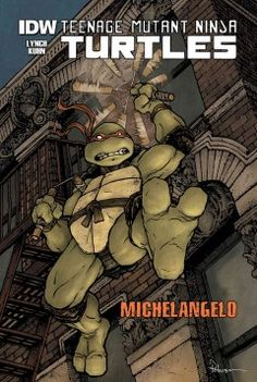 J GRA TEE. Michelangelo explores New York City and finds even more mysteries.