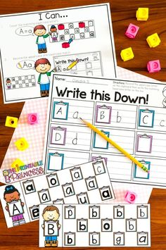 Colorful and effective upper/lowercase letter matching activities! Perfect for centers, morning work, or independent work time.