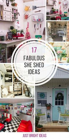 Oh these she sheds are just brilliant! Thanks for sharing! - Oh these she sheds. - Oh these she sheds are just brilliant! Thanks for sharing! – Oh these she sheds are just brillia - Shed Organization, Shed Storage, Firewood Storage, Organizing, She Shed Decorating Ideas, She Shed Interior Ideas, Shed Office, Garden Office, Shed Makeover
