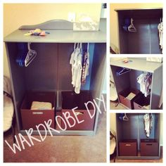 [DIY] Children's Wardrobe Dresser Up-cycle THIS IS NOW FOR SALE!! Contact me on my blog!