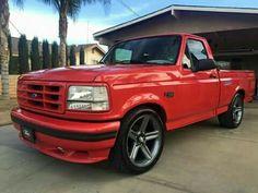 I honestly am keen on this paint color for this %%KEYWORD%% Custom Pickup Trucks, Suv Trucks, Ford Pickup Trucks, Toyota Trucks, Cool Trucks, Lowered Trucks, Lowered F150, Ford Lightning, Ranger