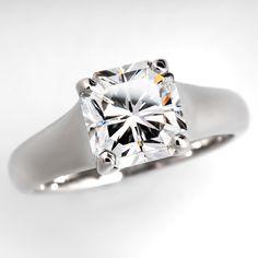 Tiffany & Co. Lucida Diamond Engagement Ring 2.56 E / VVS1