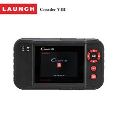 2017 the newest Launch Creader VIII reset the brake/oil/SAS light automotive scanner diagnostic tool for car code reader #Affiliate