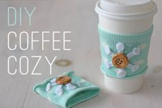 Coffee Cozy. Def going to be a gift for the peeps this year
