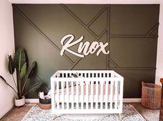 Nursery Name, Nursery Signs, Nursery Room, Nursery Decor, Nursery Ideas, Nursery Accent Walls, Wall Decor, Bedroom Ideas, Room Decor
