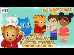 Daniel Tiger – Grr-ific Song Compilation (35 Minutes) - YouTube
