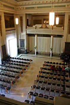 wedding reception at memorial dayton ohio www daytonhistory