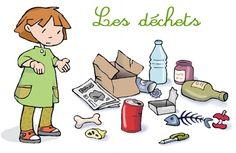 sensibiliser à la réduction des déchets - le cartable de carine - CE1