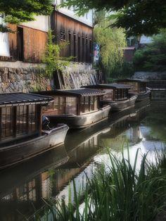 Canalship, Oumihachiman, Shiga 近江八幡