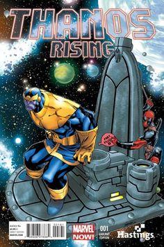 Deadpool messing with Thanos. Comic Book Covers, Comic Books Art, Comic Art, Marvel Characters, Marvel Heroes, Marvel Comics, Deadpool Comic Book, Deadpool Humor, Deadpool Stuff