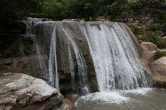 Tanggedu waterfall East Sumba